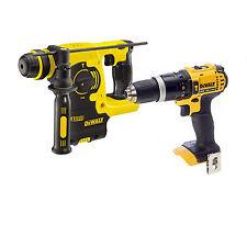 Dewalt DCH253 18V Li-Ion XR SDS+ Rotary Hammer + DCD785 Combi Hammer BODIES ONLY