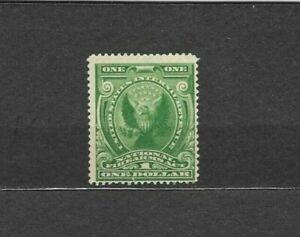 U.S.A.-Sc#RY3, MNH, REVENUE STAMP-GREEN $1.00  NATIONAL FIREARMS ACT, VF+