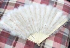 Antique Ostrich Feather Fan