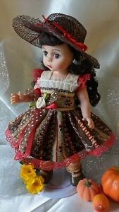 doll clothes dress hat for 8 inch dolls Ginny Wendy Muffie NO DOLL