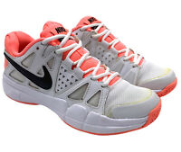 Nike Vapor Advantage White Pink Black Tennis Court Shoes Women's 6 599362-103