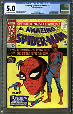 Amazing Spider-Man (Marvel, 1963) King-Size Annual #2, CGC. 5.0, W/OW Pages!