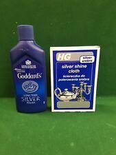The Silver Cleaning KIt, Goddards Polish & HG Polishing Cloth