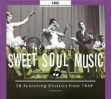 Sweet Soul Music-28 Scorching Classics From 1969 von Isley Brothers, The,Patterson, Bobby,Carter, Clarence,Taylor, Johnnie,Starr, Edwin,Bell, William,Staton, Candi,Adams, Johnny,Scott, Peggy & Jo Jo Benson,Davis, Tyrone,Butler, Jerry,Warwick, Dee Dee,Sly & The Family Stone,Mel & Tim,Simon, Joe,Various Artists,Brown, James,Everett, Betty,Foundations, The (2009)