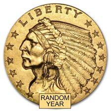 $2.50 Indian Gold Quarter Eagle XF (Random Year) - SKU #4024