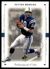 New listing 1999 Upper Deck SP Authentic Peyton Manning Indianapolis Colts #36