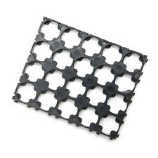 1Pcs 18650 Battery 4x5 Cell Spacer Radiating Shell Pack Plastic Heat Holder CA