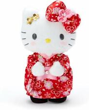 Sanrio Hello Kitty Sakura Cherry Blossom Kimono Plush Stuffed Doll 937444 Japan