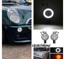 2001-2008 MINI COOPER S R50 R52 R53 CLEAR FULL LED FRONT HALO RIM LIGHTS  UK