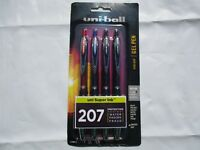 uni-ball 207 Retractable Fraud Prevention Gel Pens, $8.49, Assorted Ink Colors