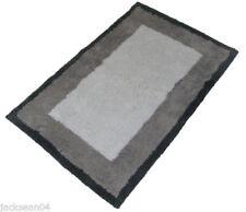 Serviettes, draps et gants de salle tapis de bain gris Coton