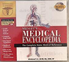 Mosby's Medical Encyclopedia Pc Brand New XP