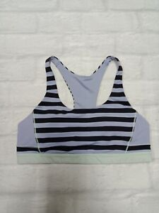 Lululemon Womens Gym Workout Yoga Pilates Bra in Purple Size 8