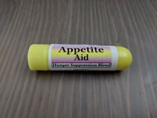 APPETITE AID- Essential Oil Personal Aromatherapy Inhaler- HUNGER SUPPRESSION