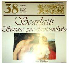 DISCO 33 GIRI I TESORI DELLA MUSICA CLASSICA - SCARLATTI SONATE PER CLAVICEMBALO