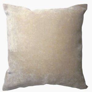 Ma17a Light Khaki Velvet Style Cotton Blend Cushion Cover/Pillow Case*Custom