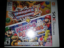 3DS Puzzle & Dragons Z Super Mario Bros. Edition Game |BRAND NEW SEALED Nintendo