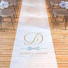 Glitz and Glam PERSONALIZED Aisle Runner Wedding Ceremony Decoration