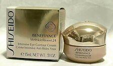 Shiseido Benefiance Wrinkle Resist 24 Intensive Eye Contour Cream 15 Ml Nib