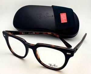 New Ray-Ban Reading Glasses RB 5377 5909 52-20 150 Black&Tortoise Frames Readers