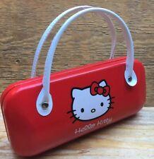 Cute Retro Hello Kitty Glasses Case/Genuine Sanrio Product/Sunglasses/Bag Shaped