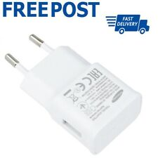 Samsung EU Plug 2 Pin European Travel Adapter Main Charger Wall Plug