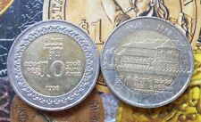 SRI LANKA 1998 Bi Metal Commemorative Coin 50 YRS of Independence
