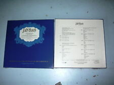 BACH St John Passion 6 LP Record Box NEW SEALED Slowik