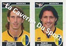 N°570 PIVOTTO - DI VENANZIO # ITALIA MODENA.FC STICKER PANINI CALCIATORI 2005