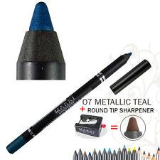 Makki Metallic Teal Glide Waterproof Eyeliner Super Long Stay Eye Liner Pencil