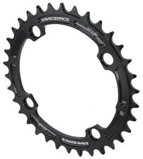 Race Face Single Narrow Wide 1x MTB Chainring - 104mm BCD 34t Black