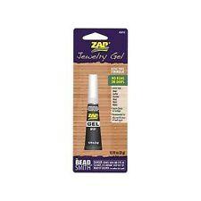 1 x Bead Smith Zap Jewellery Gel 3g No Runs or Drips Super Glue Tools SB40