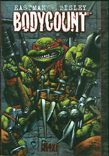Teenage Mutant Ninja Turtles Bodycount Hardcover HC TMNT Rare Simon Bisley art 1