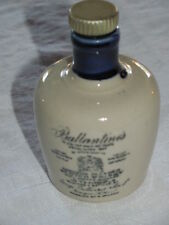 Antique Ballantine's Scotch Whisky Cobalt Blue Stoneware Jug,Signed Miniature