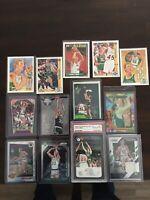 Larry Bird PSA 10 Basketball  Card Lot Topps Panini Prizm NBA Hoops Celtics
