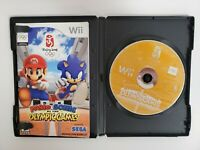 Nintendo Wii Game Mario & Sonic At The Olympic Games Beijing 2008 Sega, tested.