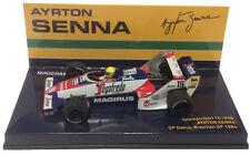 Minichamps Toleman TG183B GP Debut Brazilian GP 1984 - Ayrton Senna 1/43 Scale