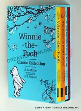 NEW WINNIE THE POOH CLASSIC COLLECTION 4 BOOK BOXED SET A A MILNE & E H SHEPARD