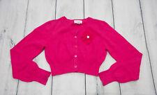 NWT Ooh La La Couture 18 m Wint13 L//S Cotton Knit CANDY PINK Bolero Jacket Shrug