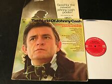 The World Of Johnny Cash - ORIGINAL 1970 2 LP W/RARE 360 Labels - NEAR MINT!