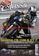 MOTO REVUE CLASSIC 59 YAMAHA 1200 1700 Vmax 500 RDLC HONDA CB 1100 BOL d'OR 2011