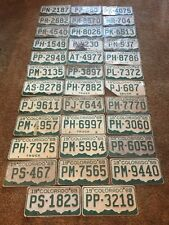 (1) 1969 COLORADO LICENSE PLATE, VINTAGE, FARM, TRUCK, VEHICLE, TAG, CO, 69