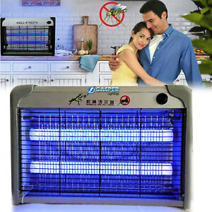 30W Pro Electric Fly Insect Bug Pest Mosquito Killer Zapper Catcher UV LED Lamp