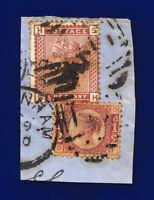 1880 SG166 1d Venetian Red K3 SH Good Used Cat £15 cptw
