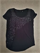 Elie tahari Black Top with Accents (Used) Size XS