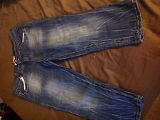 Freestyle Jean Shorts + Vanilla Star sz. 13