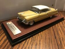 1956 Cadillac Coupe deVille 1/43 GLM resin n Neo Brooklin Gold/Wht Ltd 20 pcs