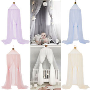 Baby Mosquito Net Cot Cotton Tent Reading Corner Nursery Decor Canopy Dome Tent