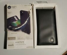 Moshi Overture Case for iPhone 11 Pro, Detachable Magnetic Wallet Cover - Black