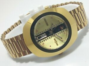 Pre-owned Rado diastar automatic mechanical gold plated wristwatch Swiss made